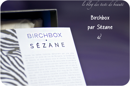 ma birchbox de novembre ma box beaut inattendue les petits tests de lia. Black Bedroom Furniture Sets. Home Design Ideas