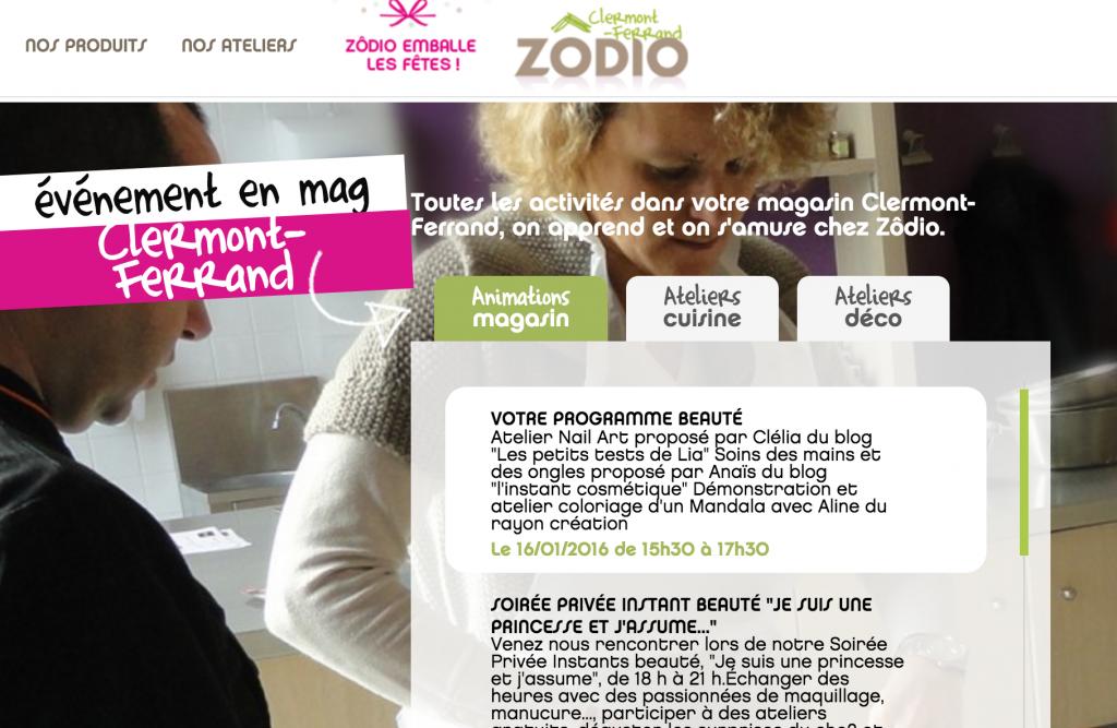 démo nail art Zodio