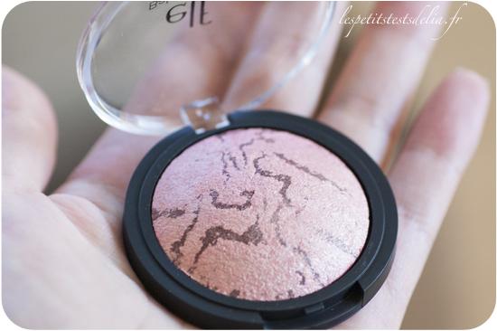 blush baked peachy cheeky de ELF