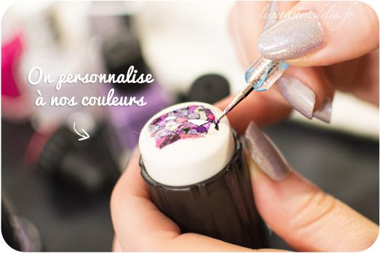 nail art tampon stamping