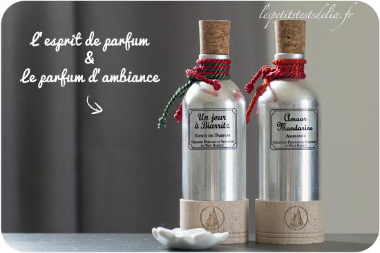 esprit de parfum et parfum d'ambiance basque