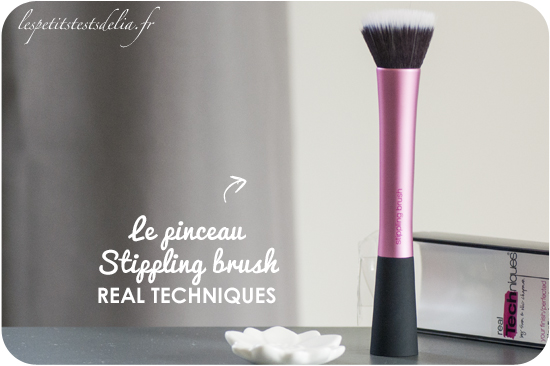 Pinceau Stippling Brush de Real Techniques