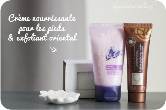 Crème pieds et exfoliant oriental Yves Rocher