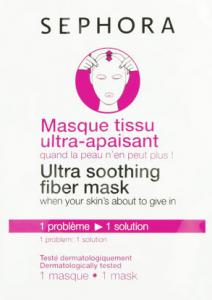 Masque en tissu ultra apaisant Sephora