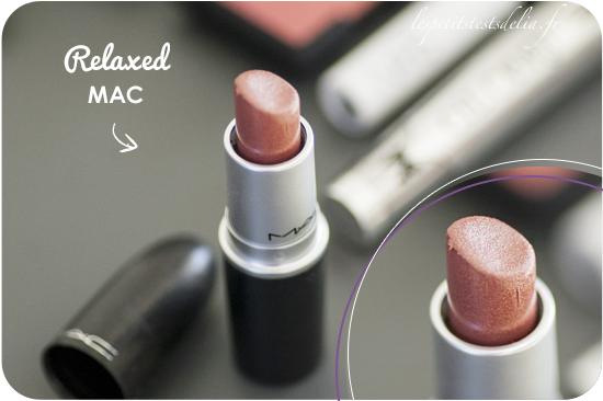 Rouge à lèvres Relaxed de Mac