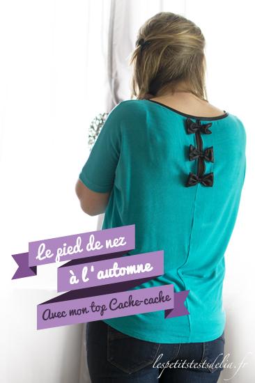 mode turquoise avec Cache-cache et h&m