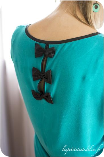 mode turquoise pour l'automne avec Cache-cache et h&m