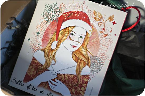 Ma boite à beauté de Noel 2014