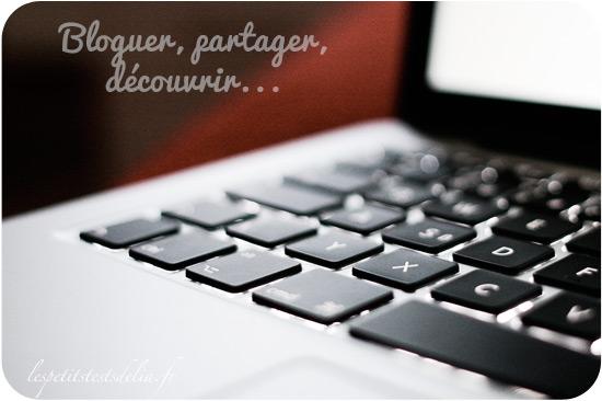 bloguer, partager, découvrir