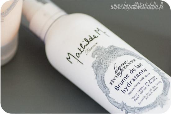 Brume de lait hydratant de Mathilde M.