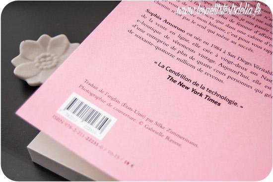Livre Sophia Amoruso Girlboss