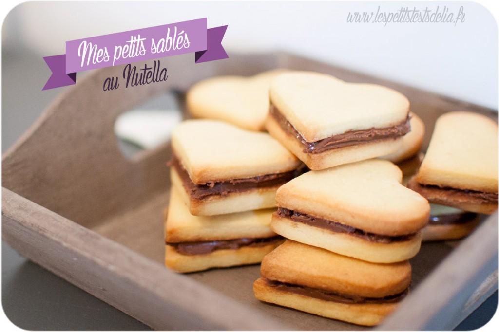 recette de sablés au Nutella christophe Felder