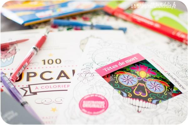 L'art thérapie coloriage anti-stress