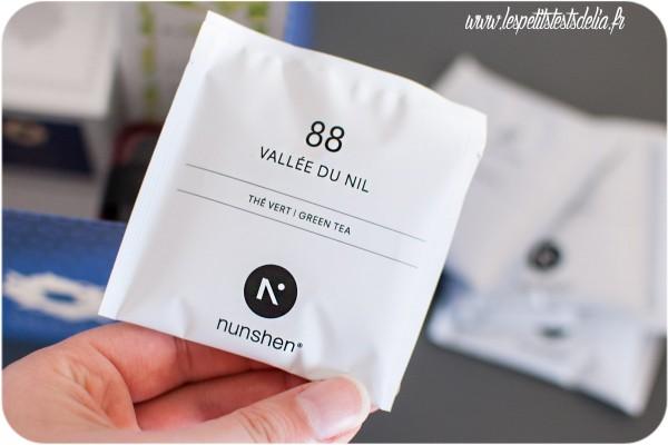 Envouthe thé vallée du Nil Nunshen
