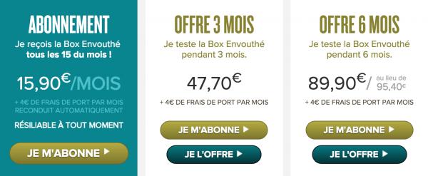 prix envouthe box