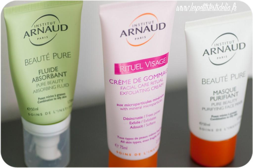 Routine peaux mixtes Intitut Arnaud