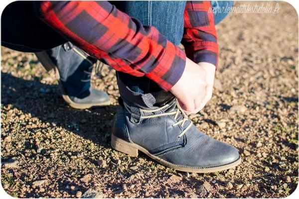 Chaussures Texto, bottines montantes