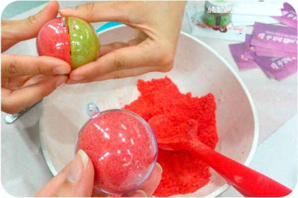 atelier boules de bain effervescentes