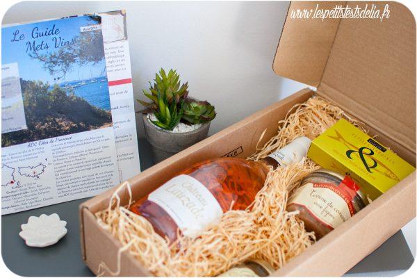 Box gourmet cuisine produits Français