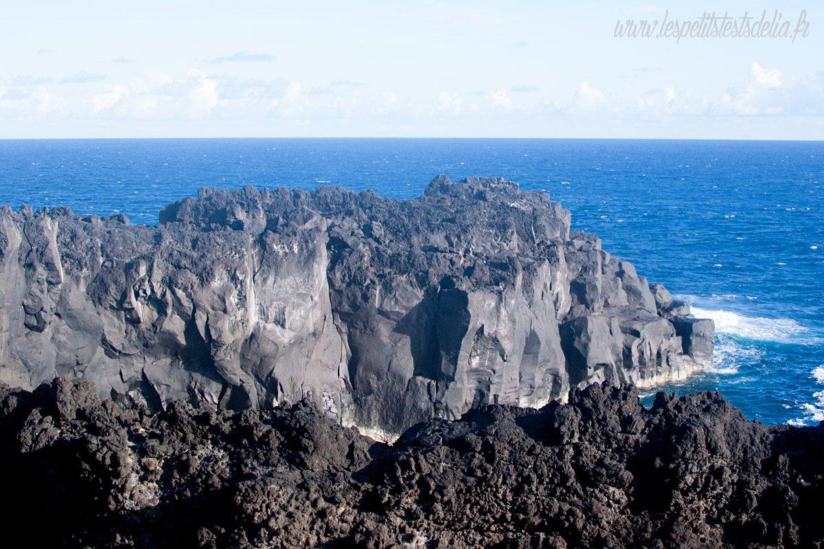 La lave - Cap Méchant La Réunion