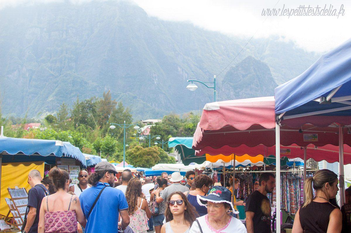 Le marché de Cilaos à La Réunion