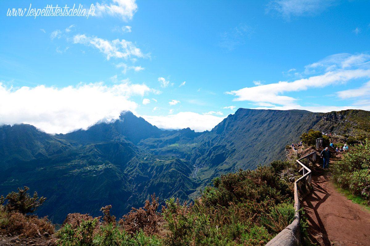 Vue panoramique du Maido La Réunion