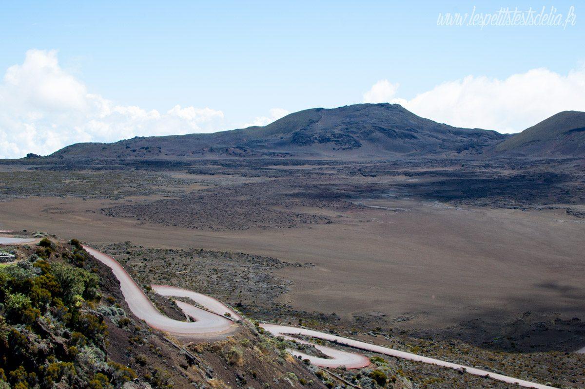 La plaine des sables du volcan à La Réunion